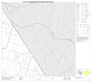 Primary view of object titled 'P.L. 94-171 County Block Map (2010 Census): Bell County, Block 9'.