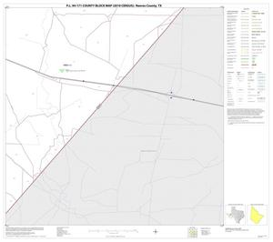 Primary view of object titled 'P.L. 94-171 County Block Map (2010 Census): Reeves County, Block 45'.