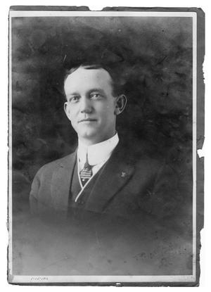 Primary view of object titled 'Unidentified Man in Suit'.