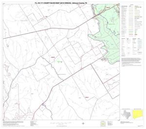 Primary view of object titled 'P.L. 94-171 County Block Map (2010 Census): Johnson County, Block 12'.