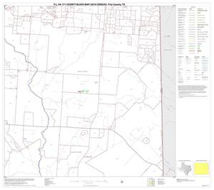 Primary view of object titled 'P.L. 94-171 County Block Map (2010 Census): Frio County, Block 8'.