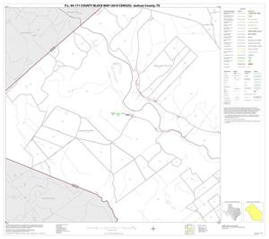 Primary view of object titled 'P.L. 94-171 County Block Map (2010 Census): Jackson County, Block 5'.
