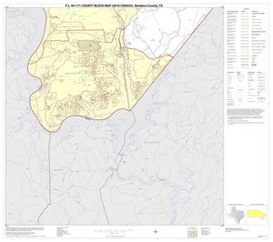 Primary view of object titled 'P.L. 94-171 County Block Map (2010 Census): Bandera County, Block 20'.
