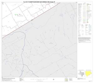 Primary view of object titled 'P.L. 94-171 County Block Map (2010 Census): Ellis County, Block 33'.
