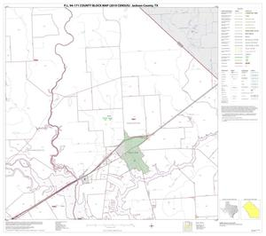 Primary view of object titled 'P.L. 94-171 County Block Map (2010 Census): Jackson County, Block 7'.