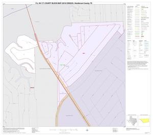 Primary view of object titled 'P.L. 94-171 County Block Map (2010 Census): Henderson County, Inset D01'.