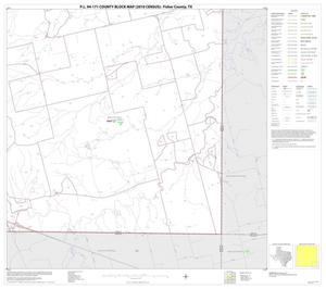 Primary view of object titled 'P.L. 94-171 County Block Map (2010 Census): Fisher County, Block 16'.