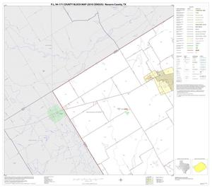 Primary view of object titled 'P.L. 94-171 County Block Map (2010 Census): Navarro County, Block 11'.