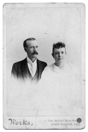 Primary view of object titled 'Fannie Alta Ellis Dubose and Leonard Homer Dubose'.