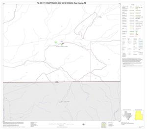 Primary view of object titled 'P.L. 94-171 County Block Map (2010 Census): Real County, Block 34'.
