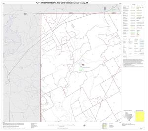 Primary view of object titled 'P.L. 94-171 County Block Map (2010 Census): Runnels County, Block 1'.