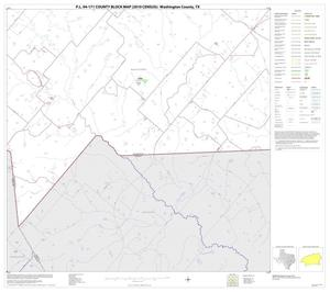 Primary view of object titled 'P.L. 94-171 County Block Map (2010 Census): Washington County, Block 30'.