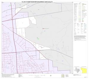 Primary view of object titled 'P.L. 94-171 County Block Map (2010 Census): Smith County, Inset B06'.
