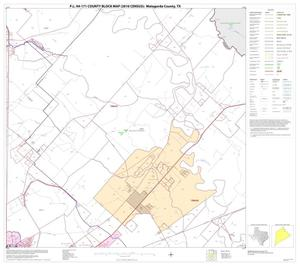 Primary view of object titled 'P.L. 94-171 County Block Map (2010 Census): Matagorda County, Block 5'.