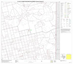 Primary view of object titled 'P.L. 94-171 County Block Map (2010 Census): Dawson County, Block 6'.