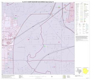 Primary view of object titled 'P.L. 94-171 County Block Map (2010 Census): Bexar County, Inset F05'.