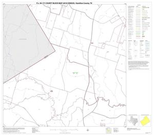 Primary view of object titled 'P.L. 94-171 County Block Map (2010 Census): Hamilton County, Block 4'.