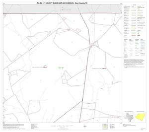 Primary view of object titled 'P.L. 94-171 County Block Map (2010 Census): Starr County, Block 2'.