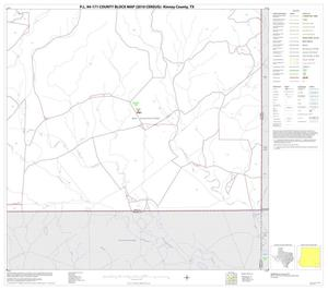 Primary view of object titled 'P.L. 94-171 County Block Map (2010 Census): Kinney County, Block 26'.