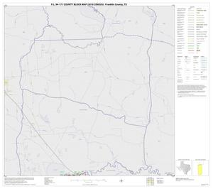 Primary view of object titled 'P.L. 94-171 County Block Map (2010 Census): Franklin County, Block 1'.