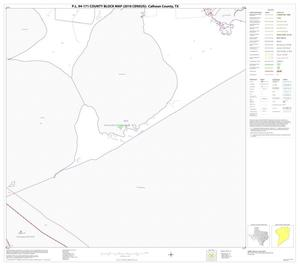 Primary view of object titled 'P.L. 94-171 County Block Map (2010 Census): Calhoun County, Block 10'.