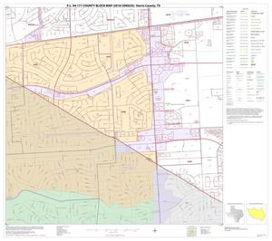 Primary view of object titled 'P.L. 94-171 County Block Map (2010 Census): Harris County, Block 230'.