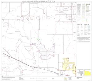 Primary view of object titled 'P.L. 94-171 County Block Map (2010 Census): Wichita County, Block 6'.