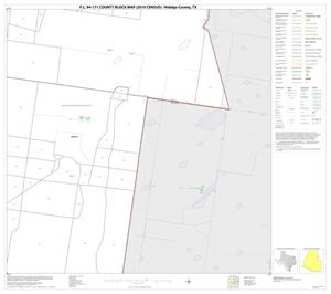 Primary view of object titled 'P.L. 94-171 County Block Map (2010 Census): Hidalgo County, Block 36'.