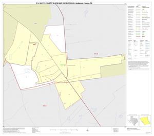 Primary view of object titled 'P.L. 94-171 County Block Map (2010 Census): Anderson County, Inset E01'.