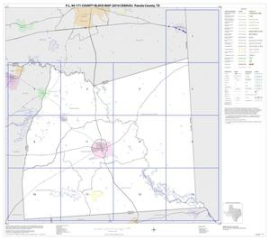 Primary view of object titled 'P.L. 94-171 County Block Map (2010 Census): Panola County, Index'.