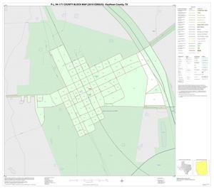 Primary view of object titled 'P.L. 94-171 County Block Map (2010 Census): Kaufman County, Inset I01'.