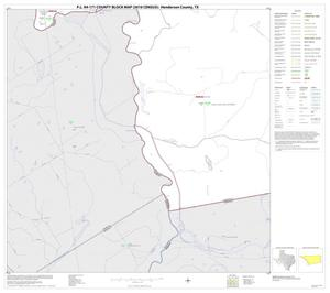 Primary view of object titled 'P.L. 94-171 County Block Map (2010 Census): Henderson County, Block 25'.