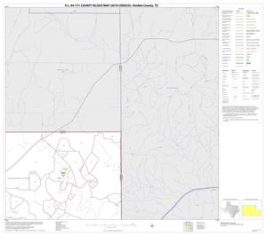 Primary view of object titled 'P.L. 94-171 County Block Map (2010 Census): Kimble County, Block 5'.