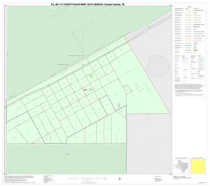 Primary view of object titled 'P.L. 94-171 County Block Map (2010 Census): Carson County, Inset B01'.