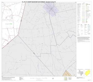 Primary view of object titled 'P.L. 94-171 County Block Map (2010 Census): Gonzales County, Block 17'.