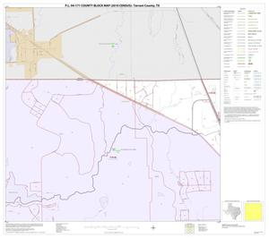 Primary view of object titled 'P.L. 94-171 County Block Map (2010 Census): Tarrant County, Block 2'.