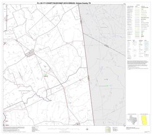 Primary view of object titled 'P.L. 94-171 County Block Map (2010 Census): Grimes County, Block 9'.