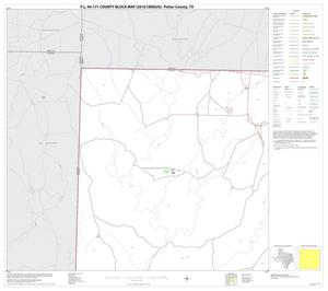 Primary view of object titled 'P.L. 94-171 County Block Map (2010 Census): Potter County, Block 1'.