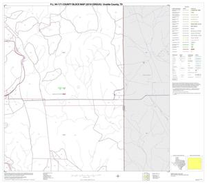 Primary view of P.L. 94-171 County Block Map (2010 Census): Uvalde County, Block 12