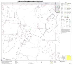 Primary view of object titled 'P.L. 94-171 County Block Map (2010 Census): Concho County, Block 3'.