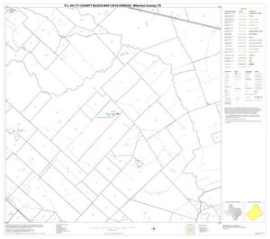 Primary view of object titled 'P.L. 94-171 County Block Map (2010 Census): Wharton County, Block 5'.