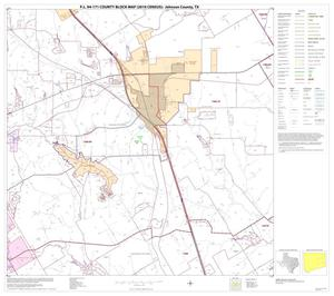 Primary view of object titled 'P.L. 94-171 County Block Map (2010 Census): Johnson County, Block 9'.