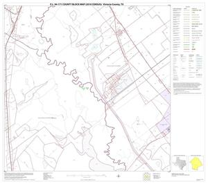 Primary view of object titled 'P.L. 94-171 County Block Map (2010 Census): Victoria County, Block 15'.