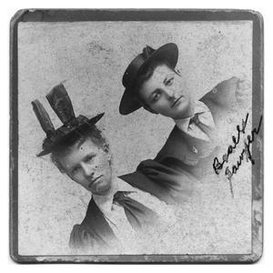 Primary view of object titled 'Lou Beall Sawyer Blanton and Unidentified Woman'.