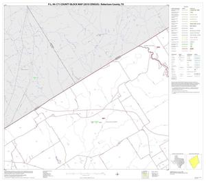 Primary view of object titled 'P.L. 94-171 County Block Map (2010 Census): Robertson County, Block 4'.