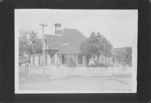 Primary view of object titled '[T.A. Wessendorff house, Richmond, Texas.]'.