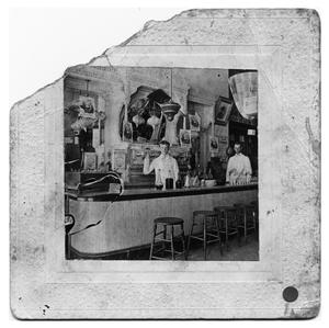 Primary view of object titled 'Matthew Stuart Blanton in His Pharmacy'.