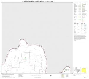 Primary view of object titled 'P.L. 94-171 County Block Map (2010 Census): Lamar County, Block 2'.