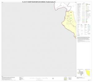 Primary view of object titled 'P.L. 94-171 County Block Map (2010 Census): Presidio County, Block 63'.