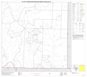 Primary view of object titled 'P.L. 94-171 County Block Map (2010 Census): Hall County, Block 16'.